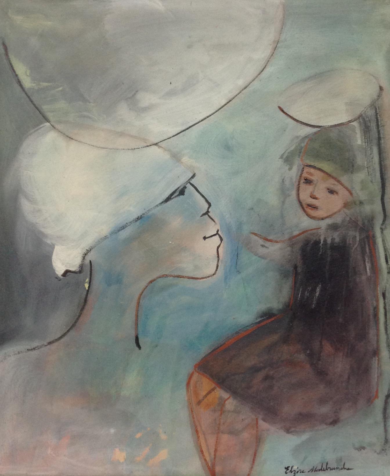 Malebranche Elzire  24X20 #20-3-96 canvas