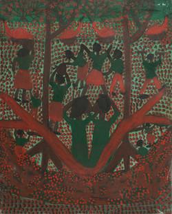 St Vil Louines 25X20 #1-3-96 Canvas 1990