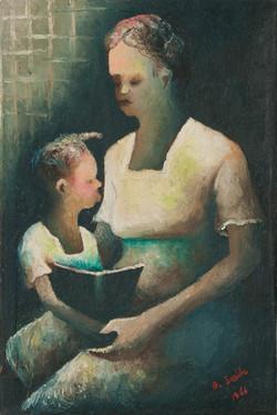 Emile Denis 30X20 #2-3-96 Canvas 1966
