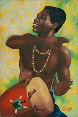 Leveille L. 30X20 #2-3-96 Canvas 1976