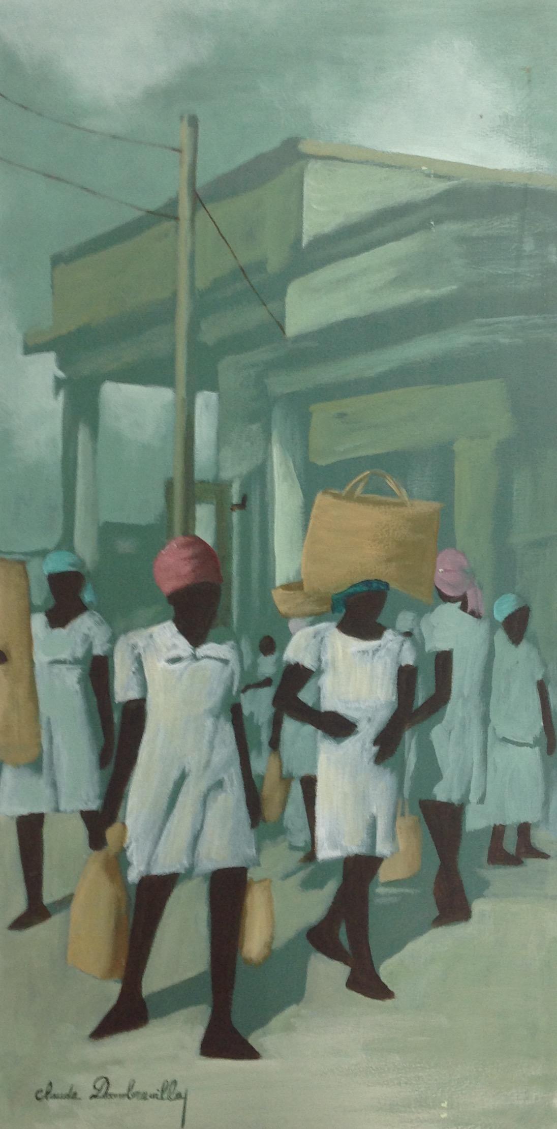Dambreville Claude 18X36 #63-3-96 canvas 1999