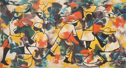 Beauvoir Paul 39X72 #1-3-96 Canvas 1969.