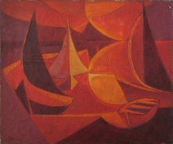 Theard Carol 20X24 #11-3-96 Canvas 1972.