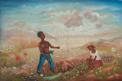Dostaly Emmanuel 24X36 #51-3-96 Canvas 1