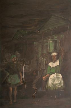 Vergin Denis 54X35 #15-3-96 Canvas 1976.
