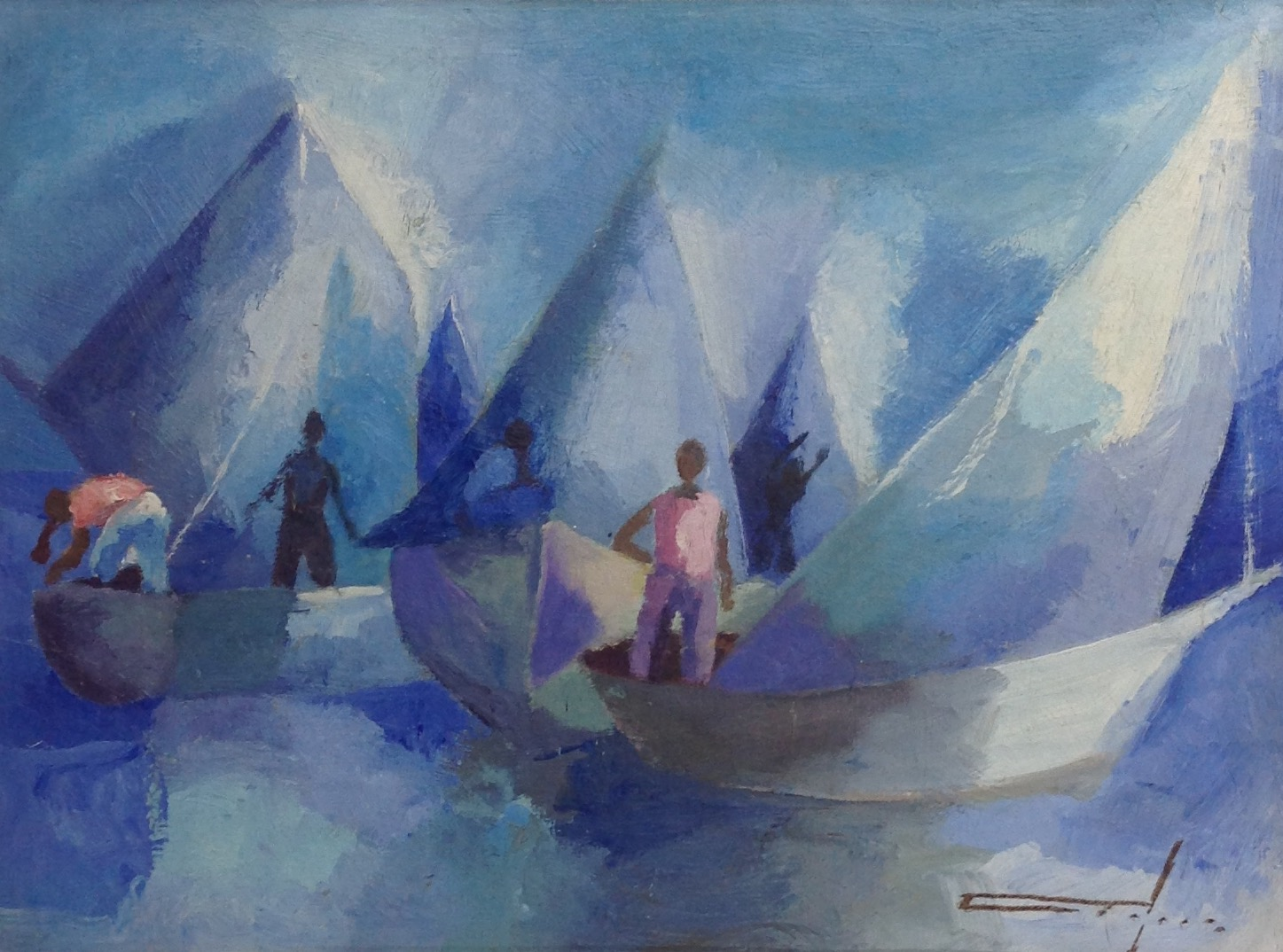 Dieudonne Cedor 12X16 #216-3-96 canvas