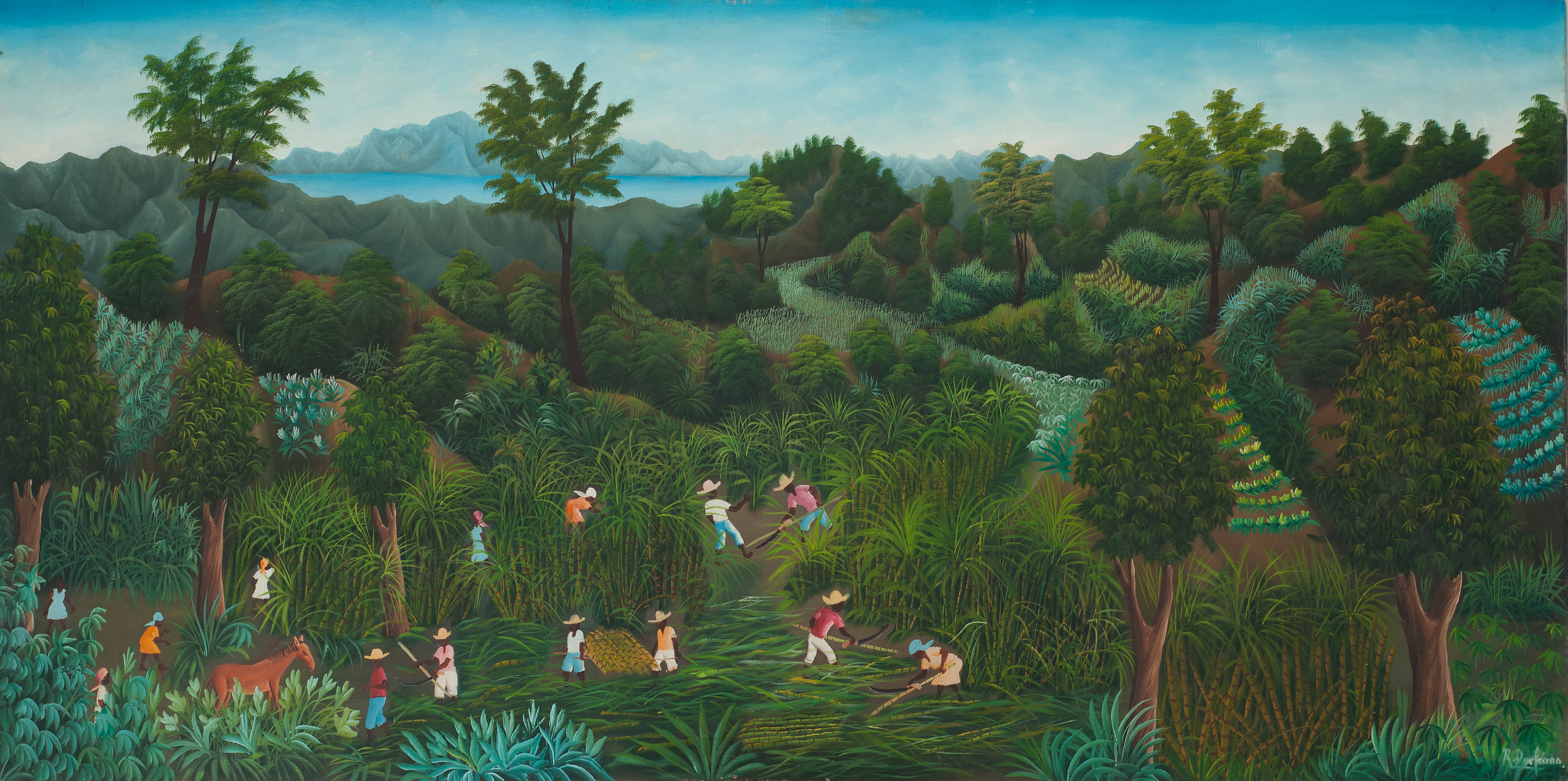 Dorleans Raymond 36X72 #91-4-90 Canvas 1