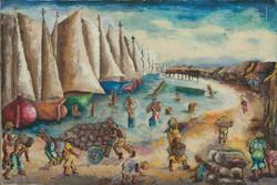 Louis WIlfrid 24X36 #3-3-96 Canvas Circa