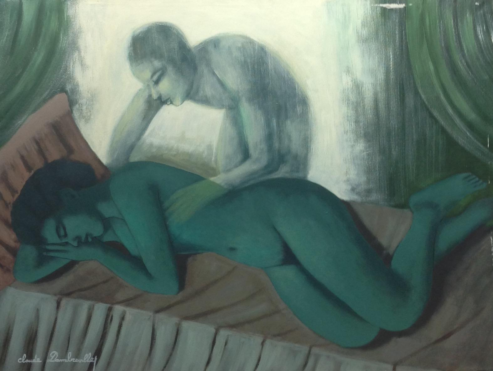 Dambreville Claude 30X40 #74-3-96 canvas 1997