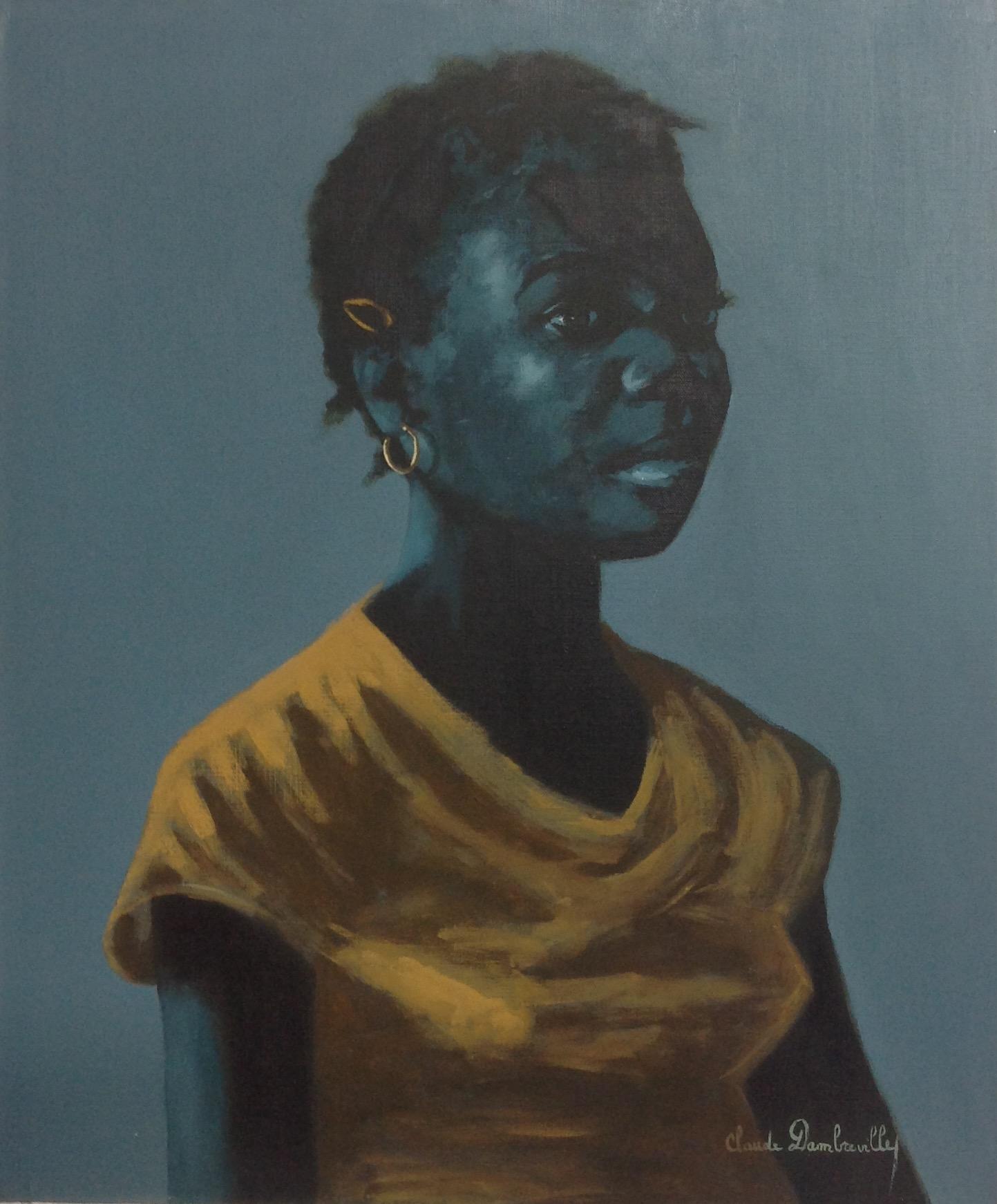 Dambreville Claude 20X24 #45-3-96 canvas 1984