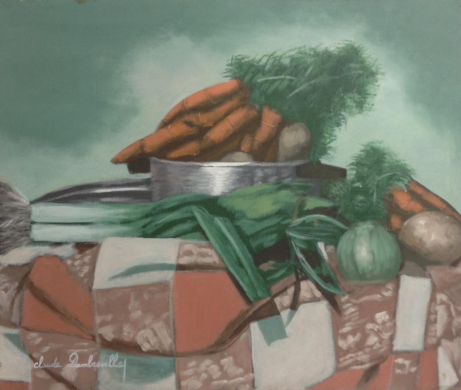 Dambreville Claude 20X24 #149-3-96 canvas 1997