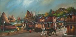 Dayan Carlo 24X48 #34-3-96 Canvas 1987