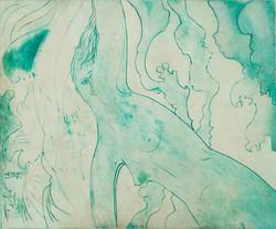 Tebo Sacha 20X24 #8-3-96 Canvas 1979