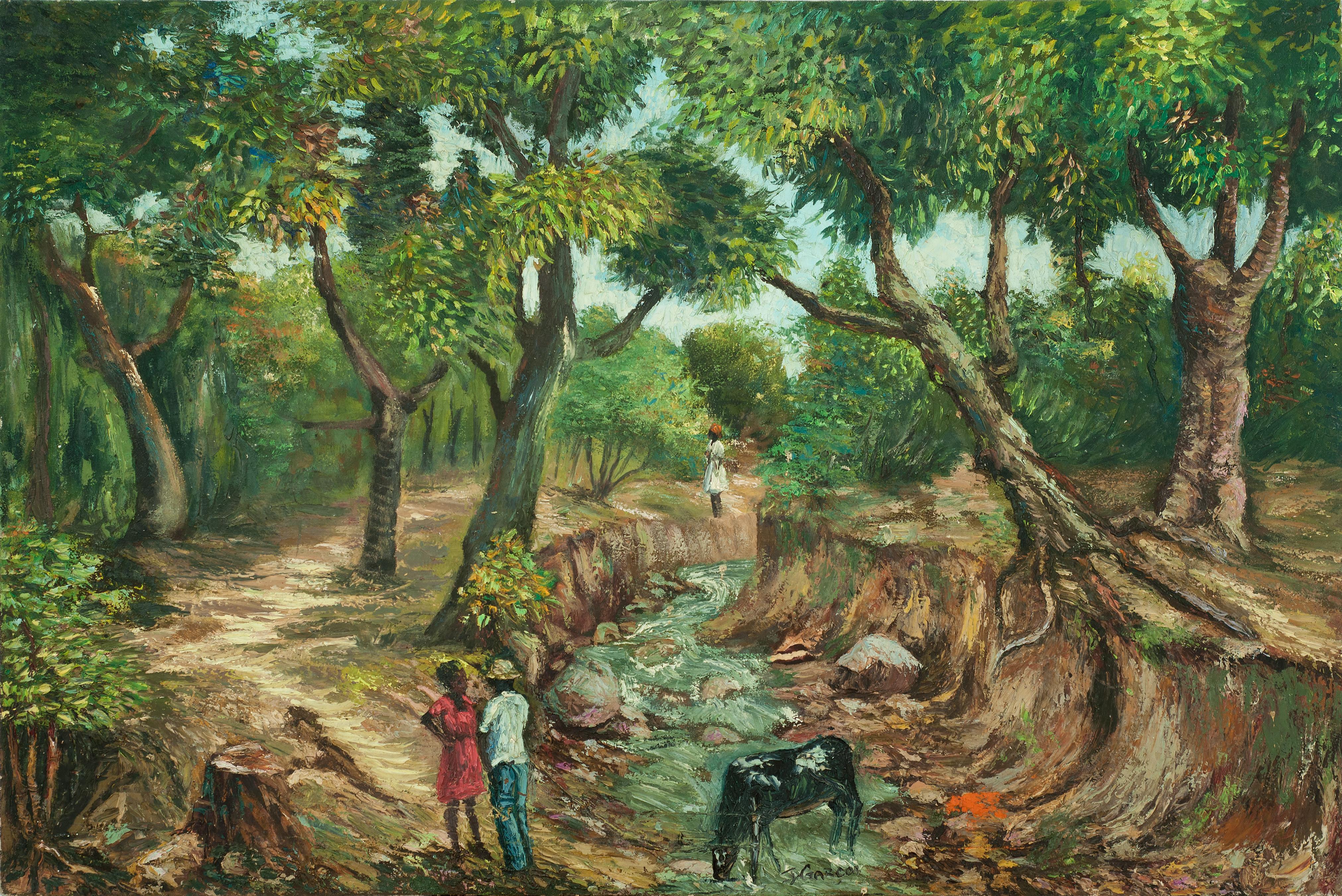 Garcon Jacquelin 24X36 #44-3-96 Canvas 1