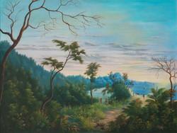 Dorleans Raymond 30X40 #203-3-96 Canvas