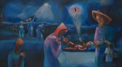 Cedor Dieudonne 39X72 #229-3-96 Canvas C