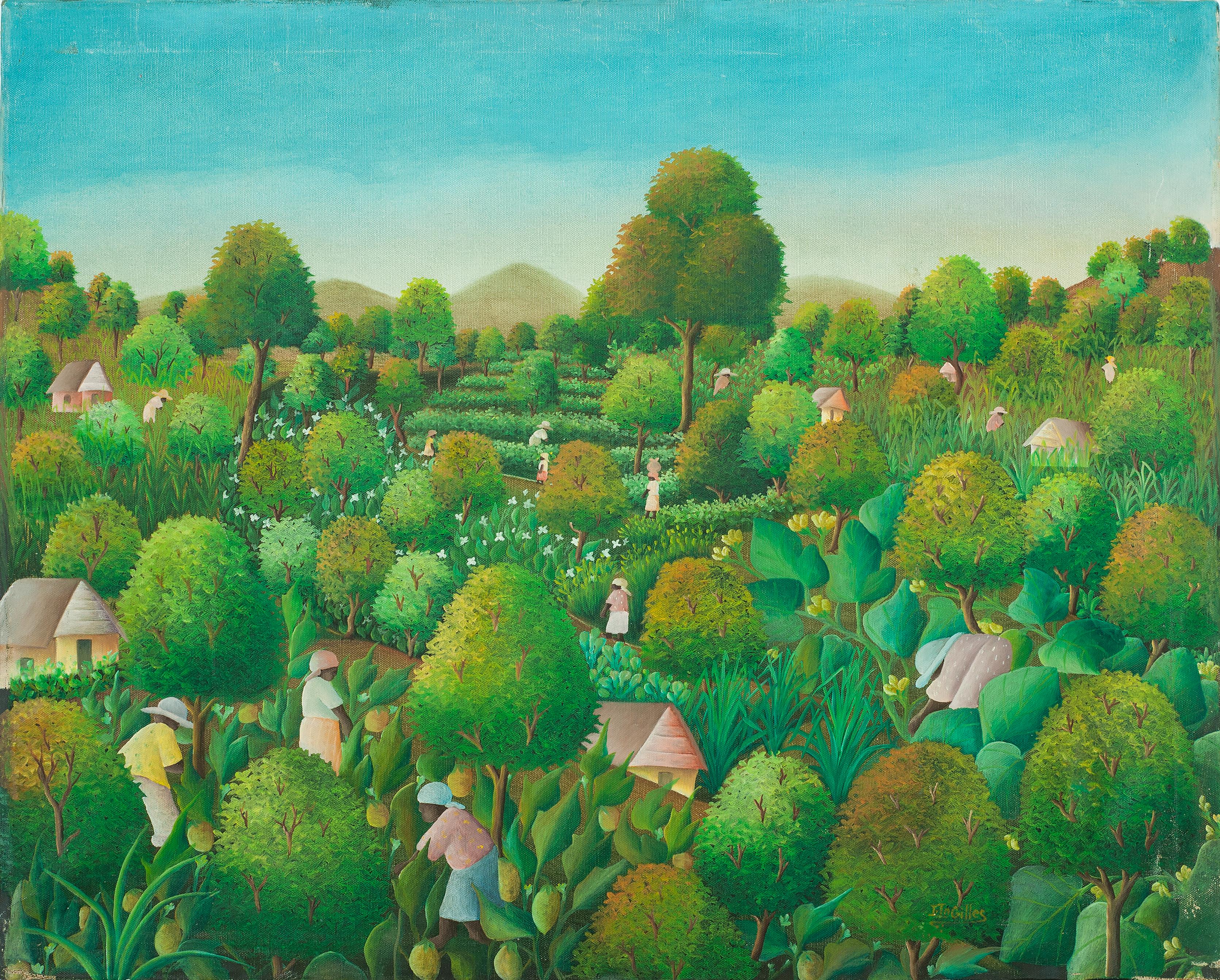 Jn Gilles Joseph 24X30 #29-3-96 Canvas 1