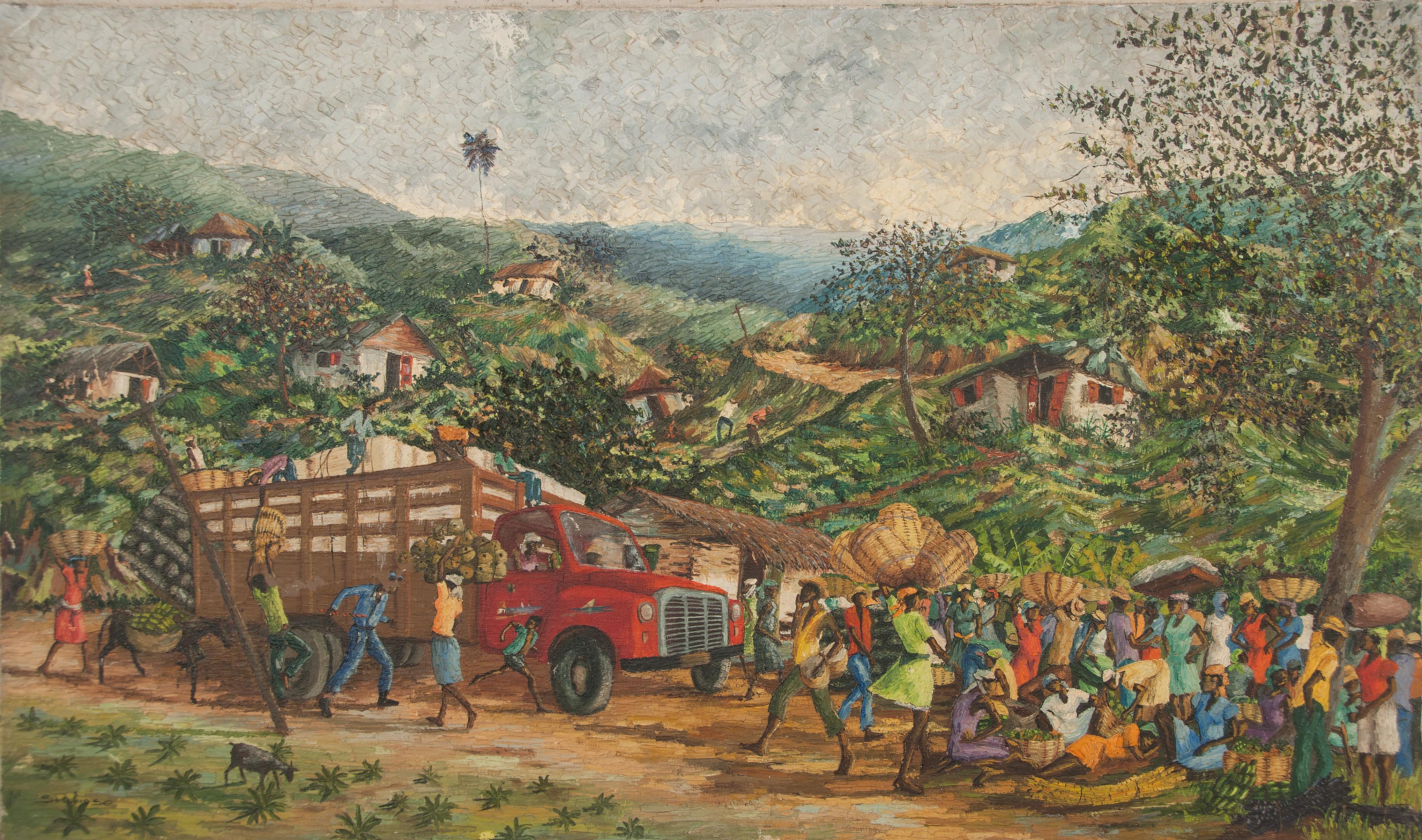 Pluviose Soiffet 24X40 #13-3-96 Canvas 1