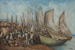 Louizor Ernst 40X60 #7-3-96 Canvas Circa