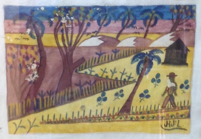 Jn Laurent Joseph 11X15 #63-6-91 aquarelle