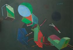 Gabriel Jacques 54X78 #45-3-96 Canvas