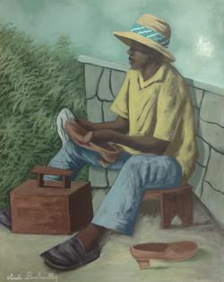 Dambreville Claude 24X30 #143-3-96 canvas