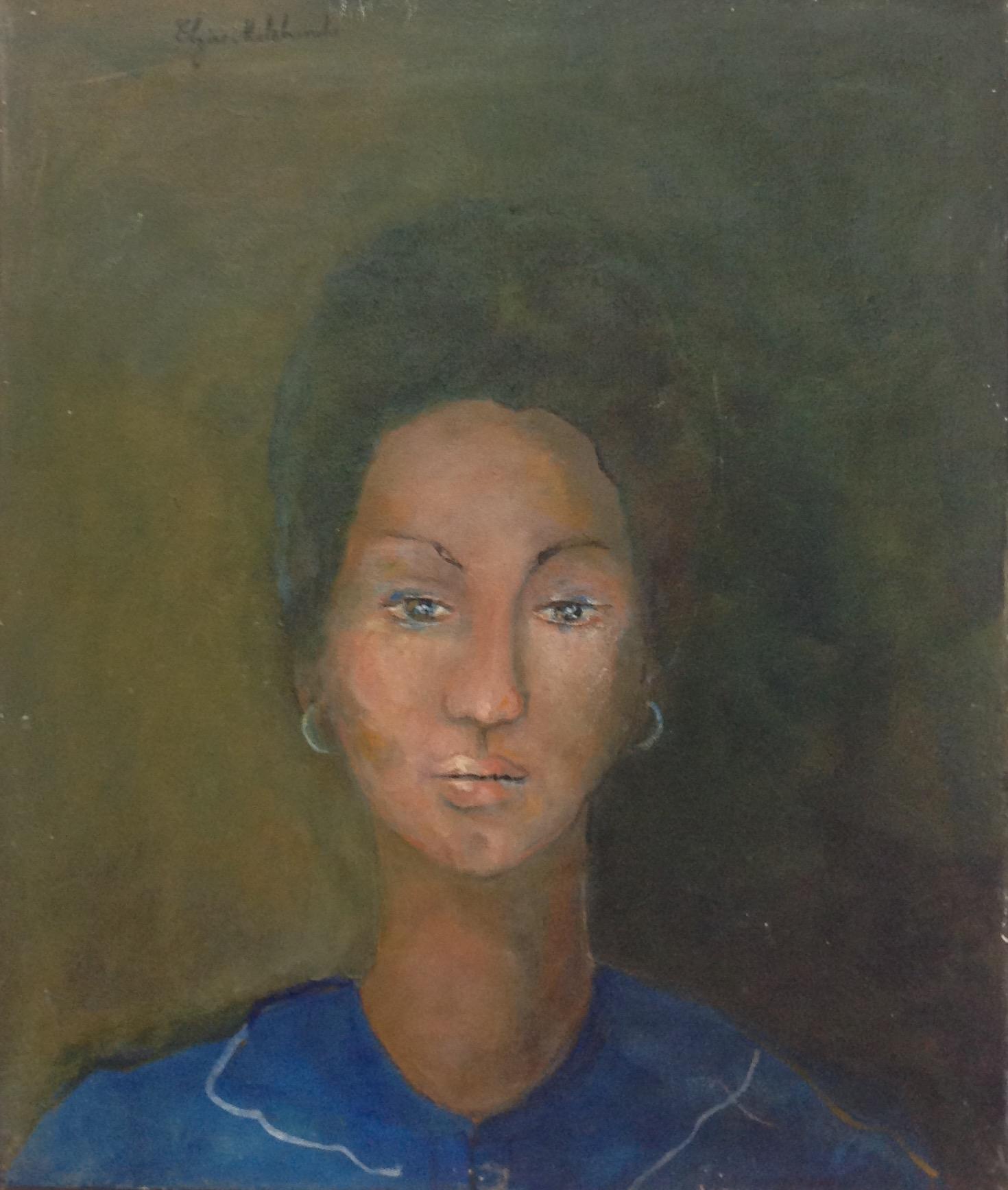 Malebranche Elzire  24X20 #19-3-96 canvas