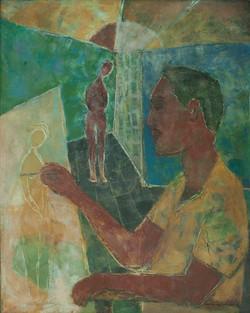 Jacques Harry 30X24 #84-3-96 Canvas 1972