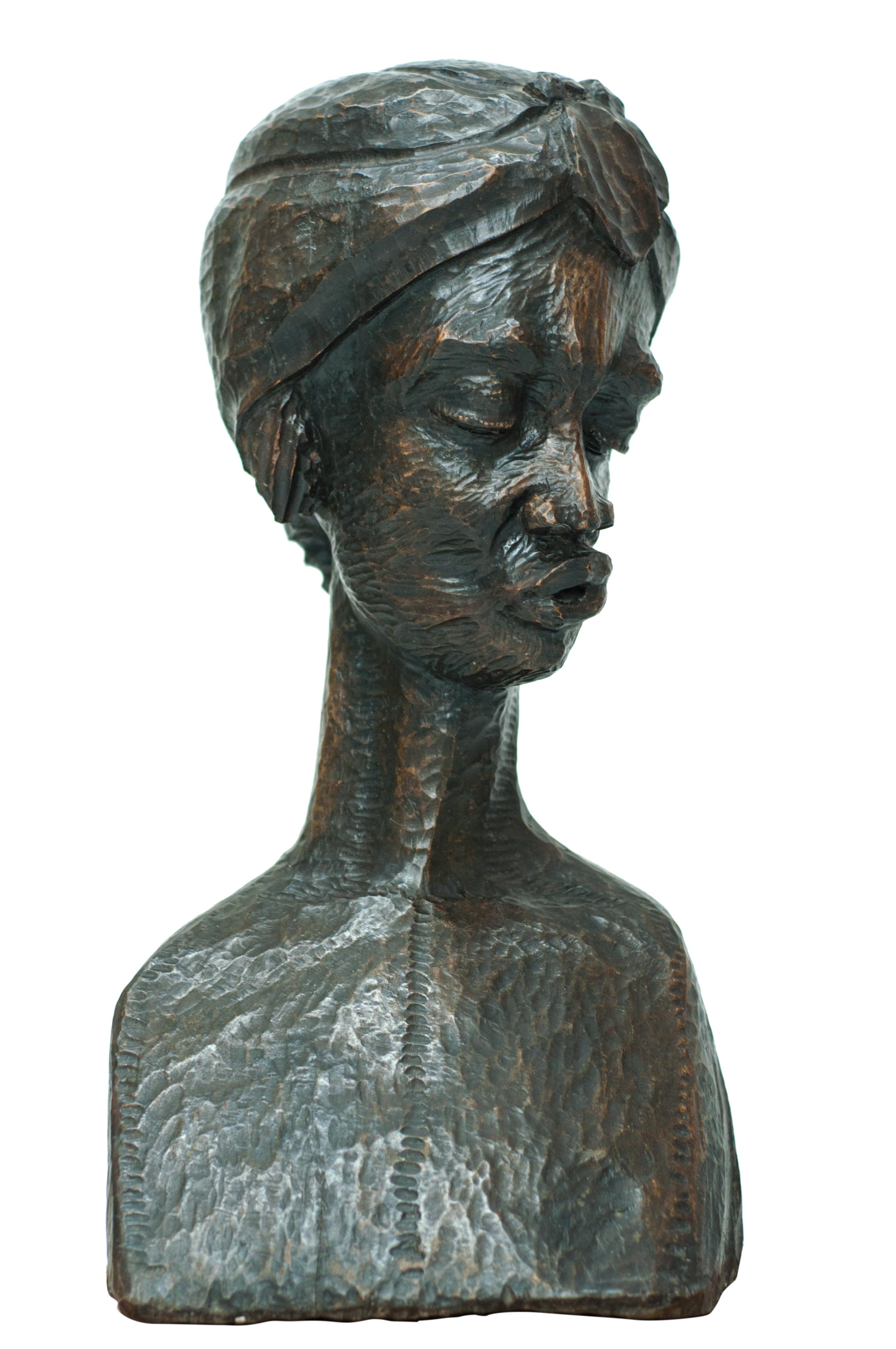 Volcy R. 7X10X20 #1-3-11 Sculpture:Bois.