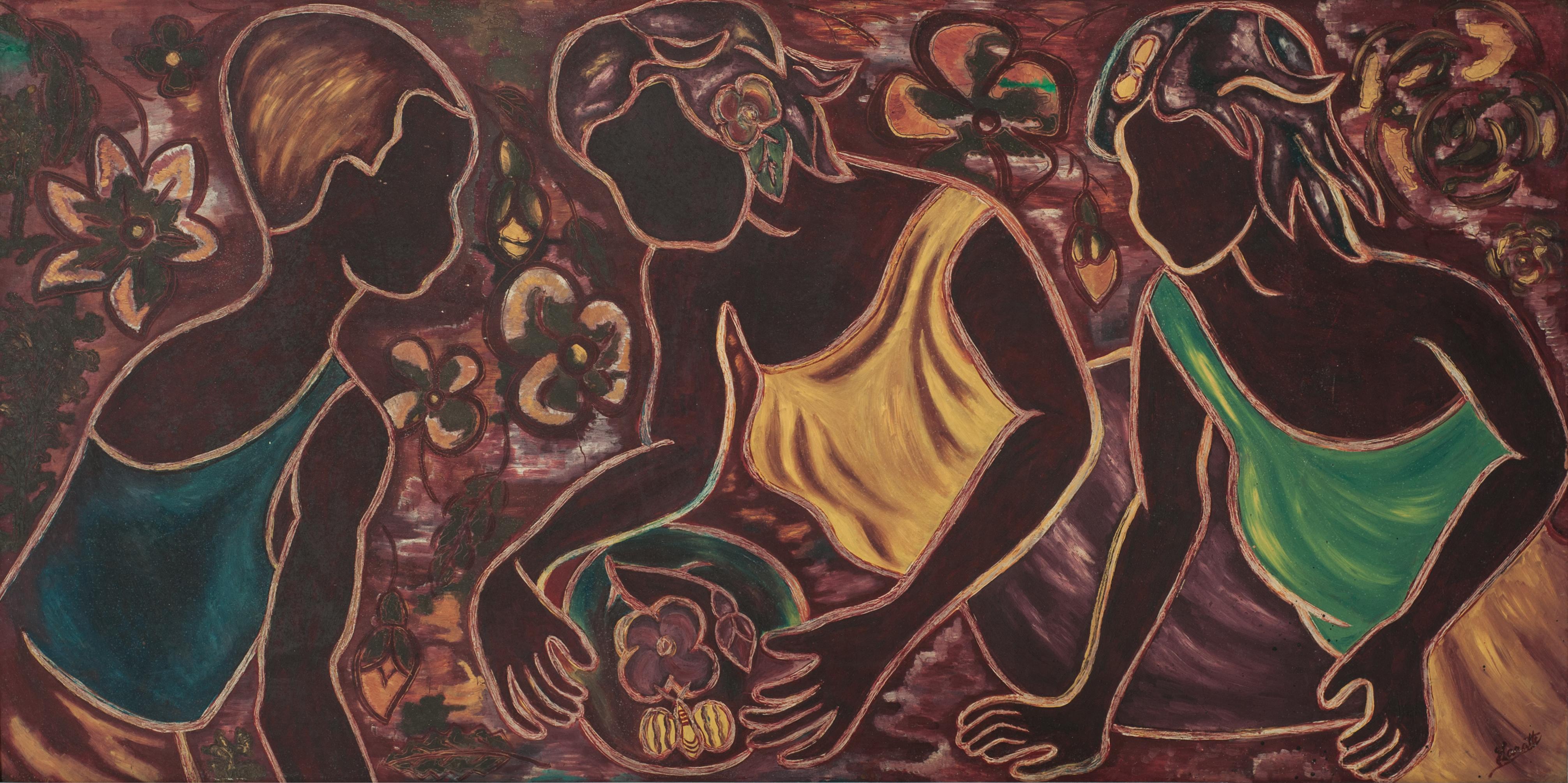 Laratte Georges 24X48 #2-3-96 Board 1972
