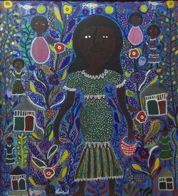 St.Fleurant Louisanne 40X36 #7-3-96 canvas