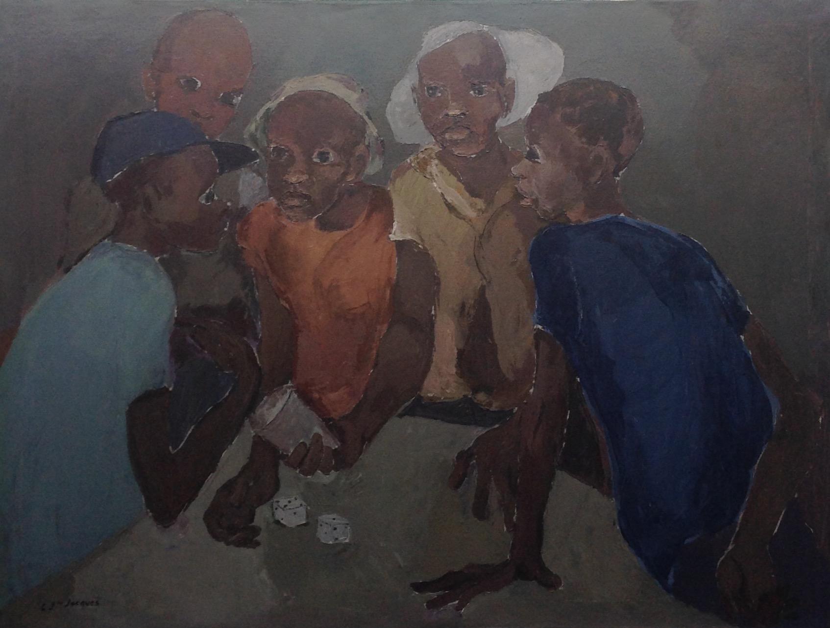 Jn Jacques Carlo 36X48 #55-3-96 canvas