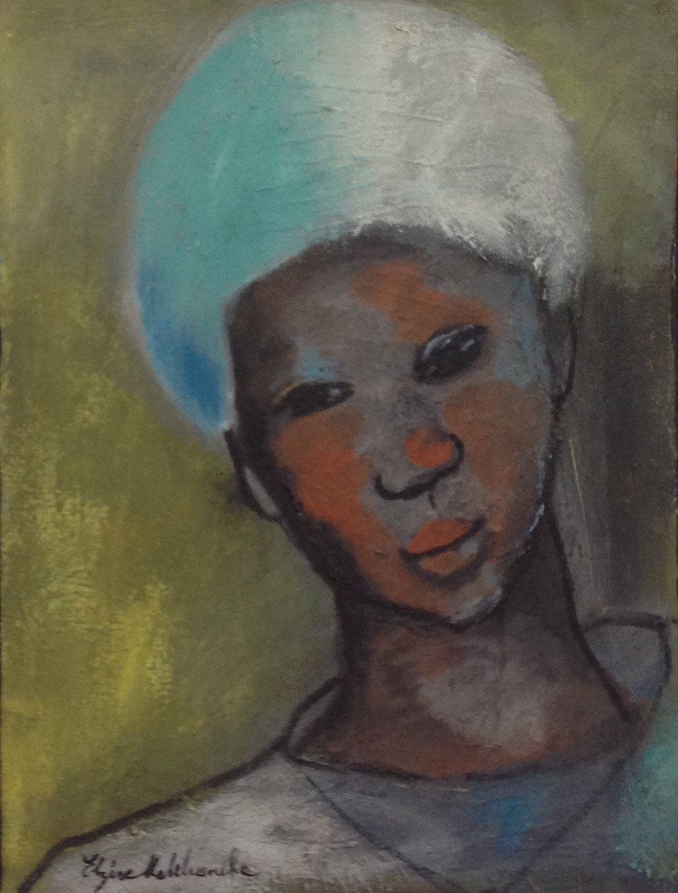 Malebranche Elzire 16X12 #18-3-96 canvas