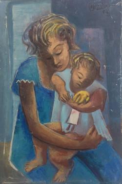 Desruisseau Rose Marie 20X30 #2-3-96 canvas