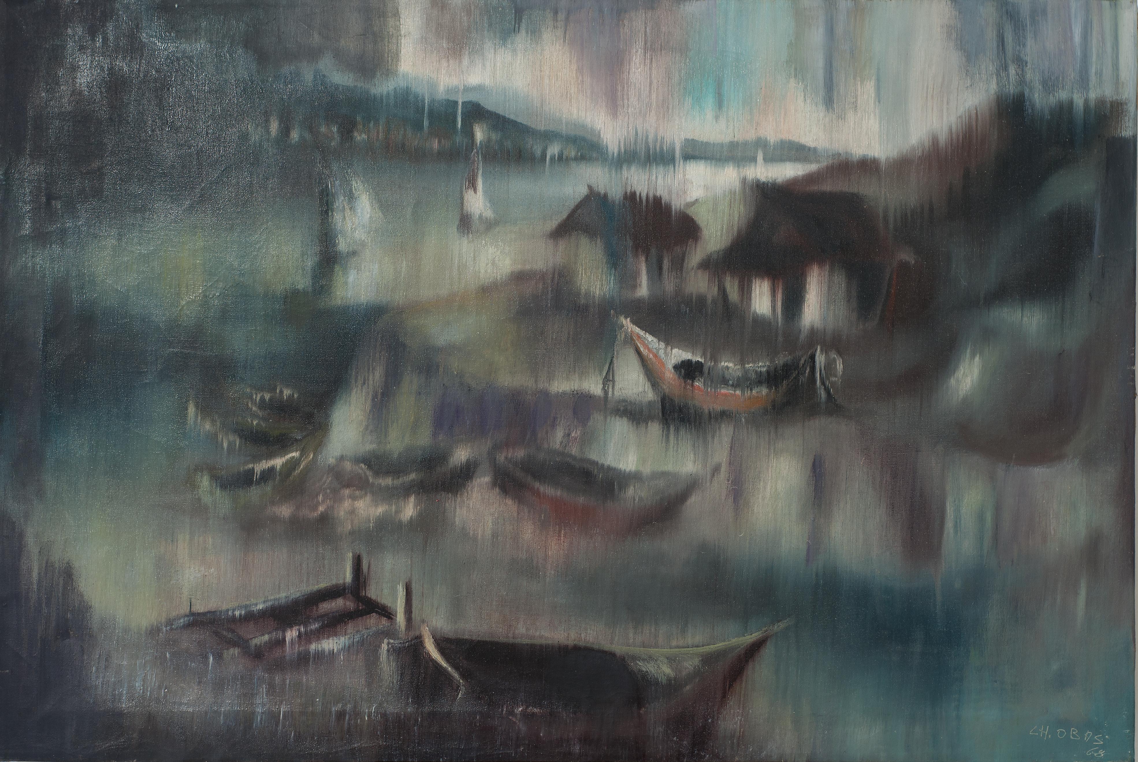 Obas Charles 24X36 #1-2-95 Canvas Circa