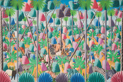 Surpris Remy 48X72 #13-4-90 Canvas 1983.