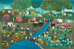 Jn Pierre Paul 24X36 #187-3-96 Canvas 19