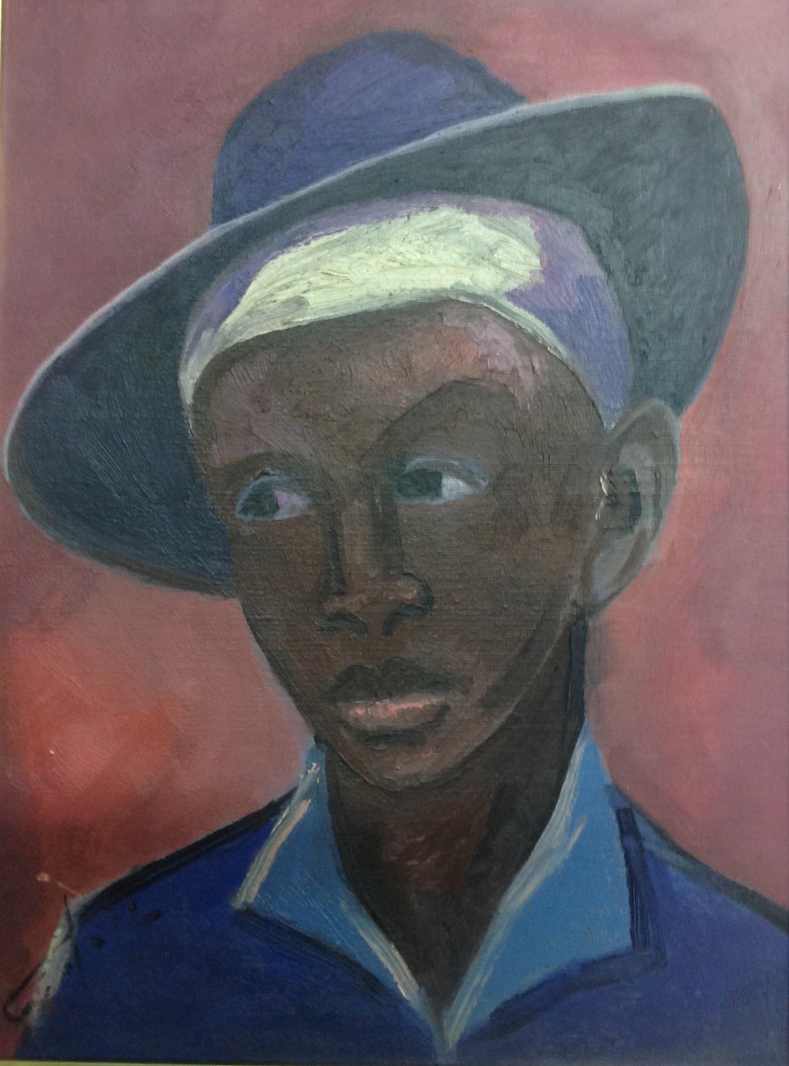 Dieudonne Cedor 12X16 #49-3-96 canvas 1972