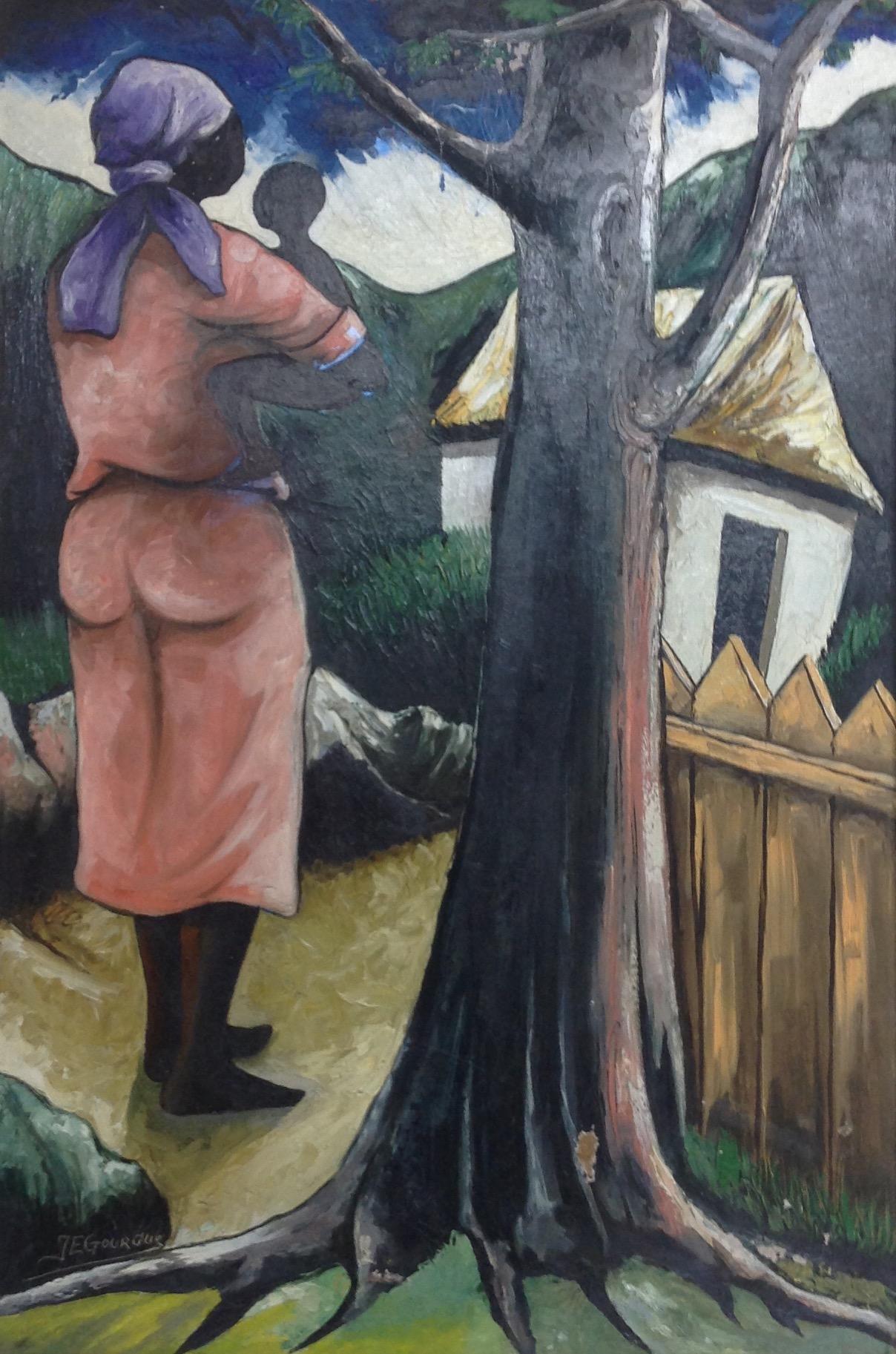 Gourgue Jacques E. 10X24 #19-3-96 canvas
