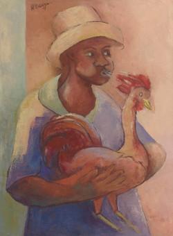 Desruisseau Rose Marie 18X24 #22-3-96 canvas