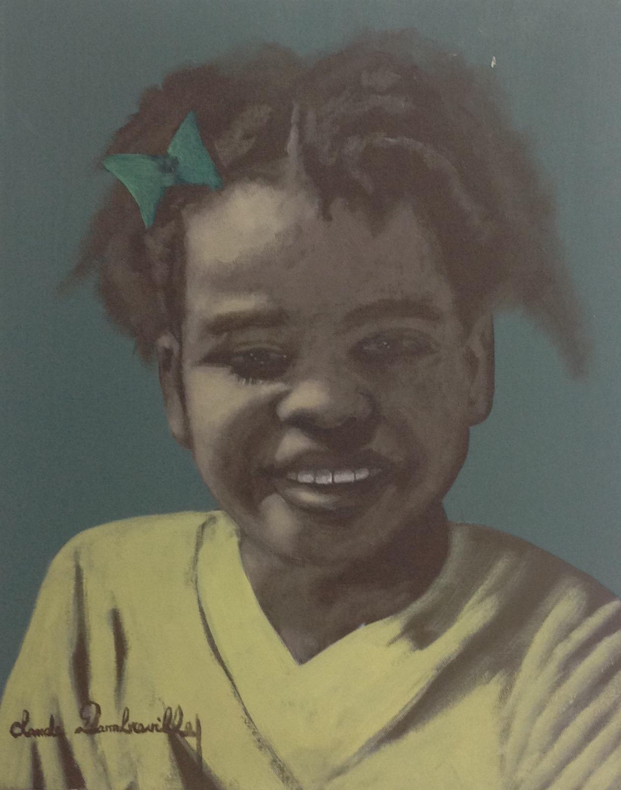 Dambreville Claude 16X20 #62-3-96 canvas 1997