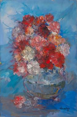 Valbrun Jacques 24X16 #7-3-96 Canvas 199