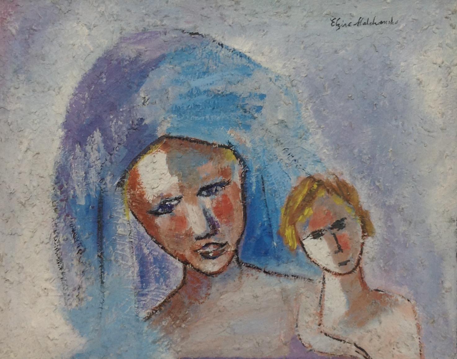Malebranche Elzire  16X20 #12-3-96 canvas