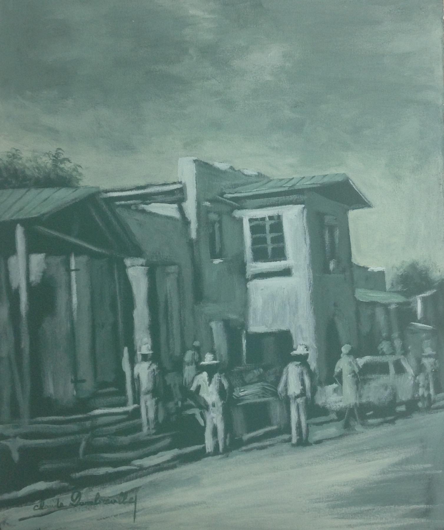 Dambreville Claude 20X24 #84-3-96 canvas 1997