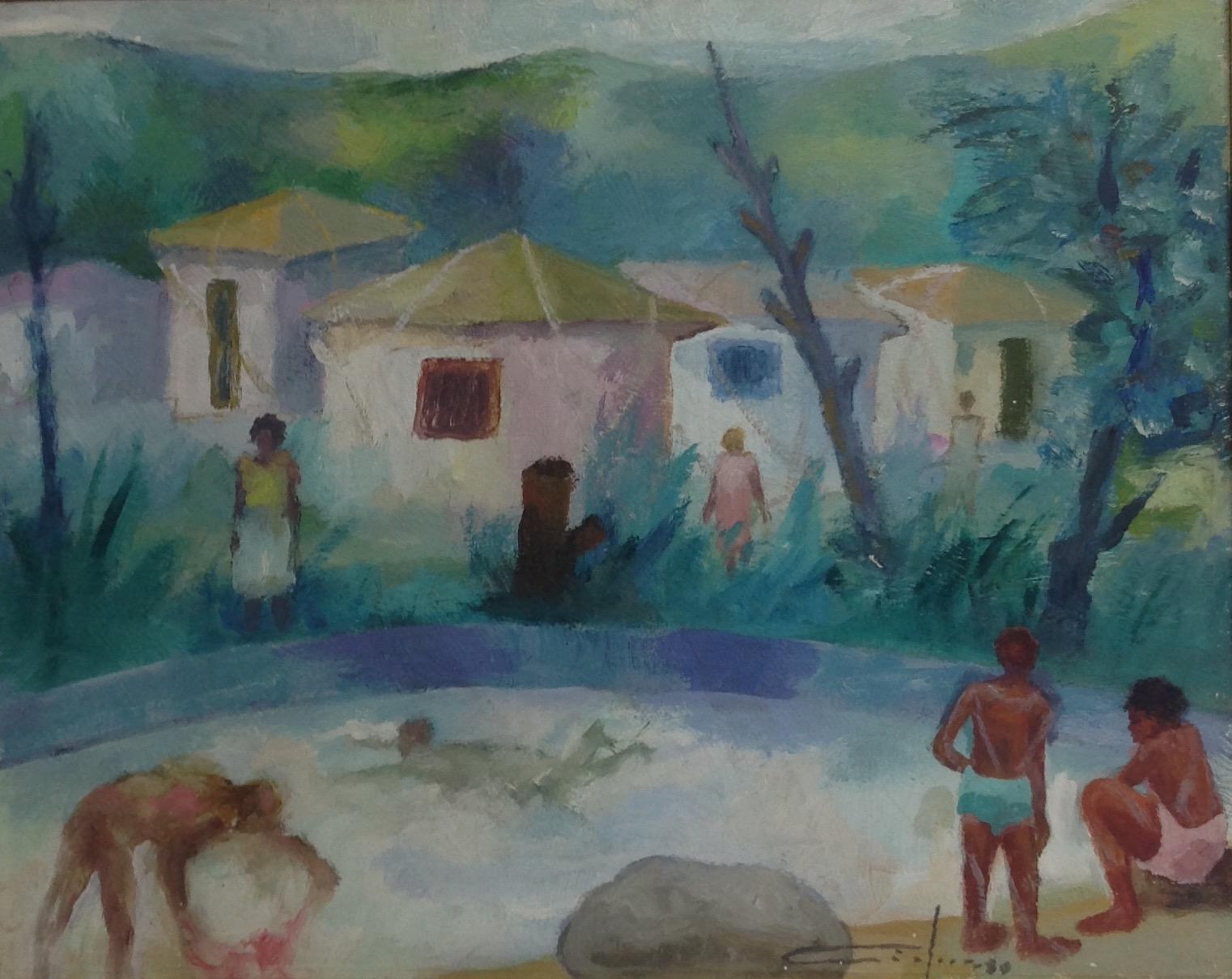 Dieudonne Cedor 16X20 #87-3-96 canvas 1980