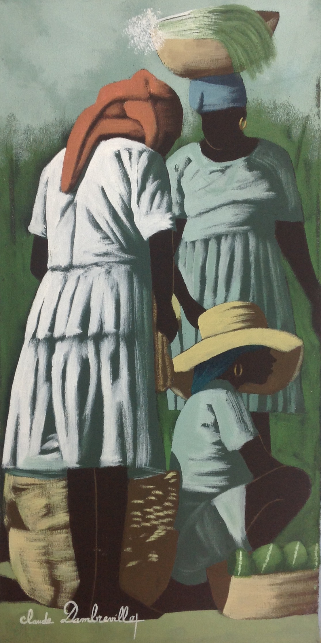 Dambreville Claude 15X30 #41-1-93 canvas 1995