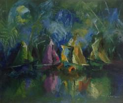 Dieudonne Cedor 20X24 #55-3-96 canvas