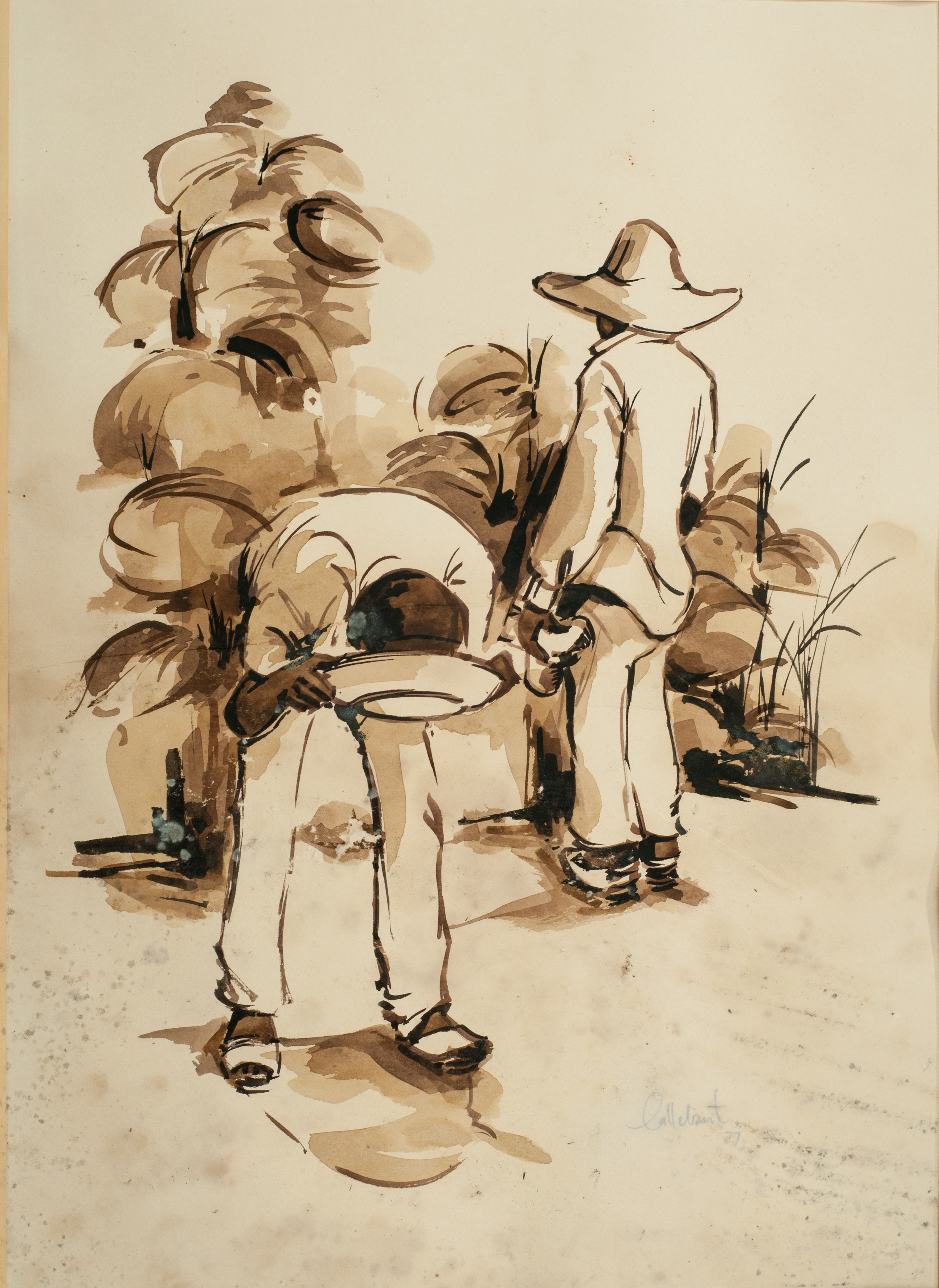 Callebaut Raymond 19 1:2X14 #9-3-96 Lith