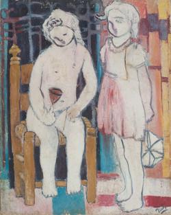 Villard Denis 30X24 #3-3-96 Canvas Circa