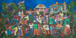 Paul Gerard 40X80 #19-4-90 Canvas 1981